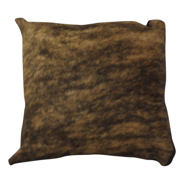 Pillow with Cow Hide For Sale