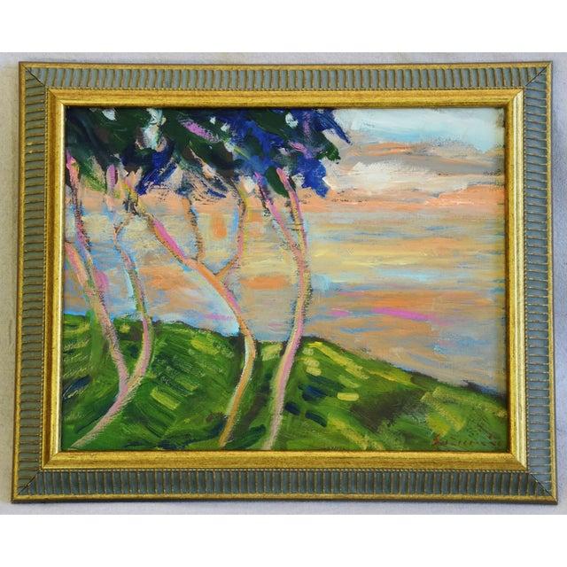 Juan Guzman Plein Air Landscape Painting For Sale - Image 9 of 10