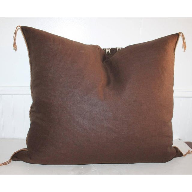 Yea Navajo Indian Weaving Pillow For Sale In Los Angeles - Image 6 of 7