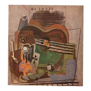 """1947 Picasso, Original Period """"Ma Jolie"""" Parisian Lithograph For Sale"""