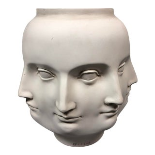 Mid-Century Modern Perpetual Face Vase For Sale