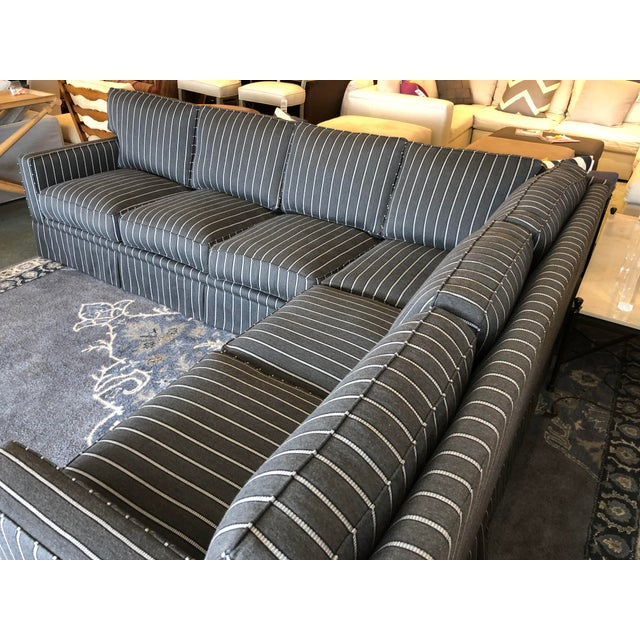 New Custom Jasper Sectional by California Sofa For Sale In San Francisco - Image 6 of 13