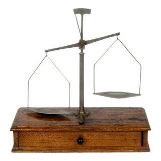 Antique Oak Wood Scale