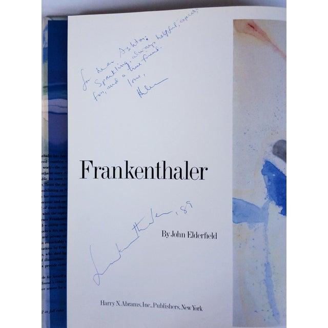 1980s Signed Helen Frankenthaler Monograph Book For Sale - Image 5 of 10