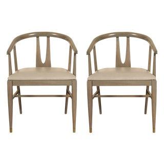 Pair of Custom Period Mid Century Chairs