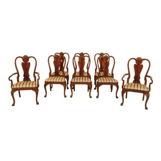 Karges Model #1200 Mahogany Dining Room Chairs - Set of 8