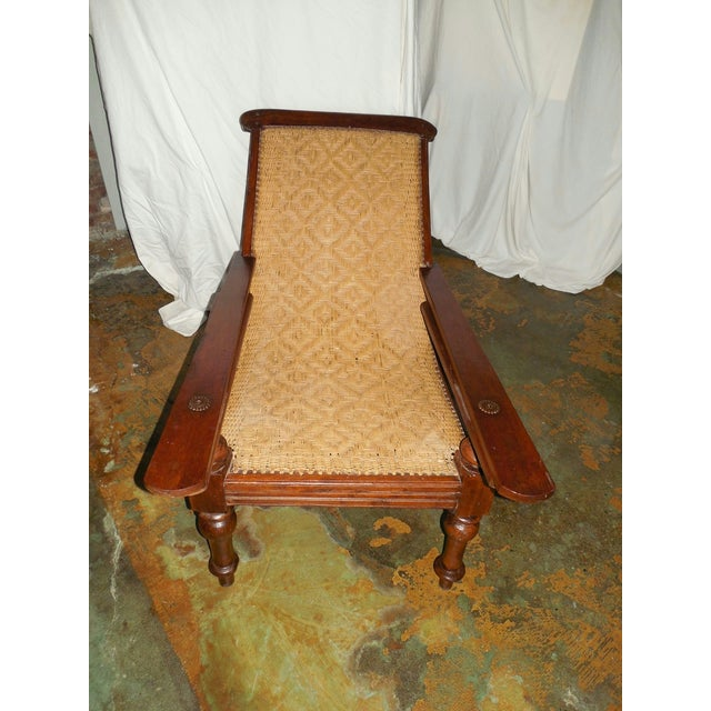 Antique Anglo-Indian Plantation Chair For Sale In Little Rock - Image 6 of 11