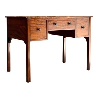 Gordon Russell Cuban Mahogany Writing Desk 1929 Extremely Rare and Important For Sale