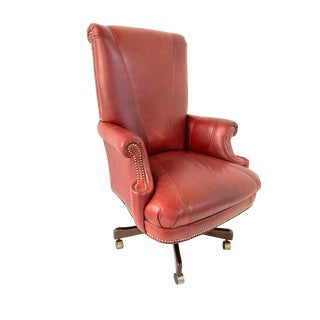 Modern Leather Office Chair For Sale