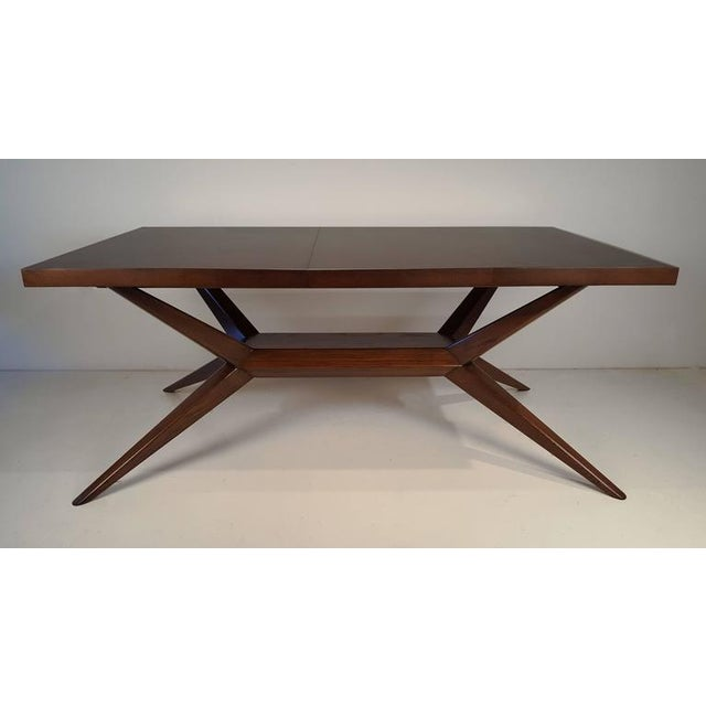 Romweber Faceted Romweber Dining Table by Harold Schwartz For Sale - Image 4 of 8