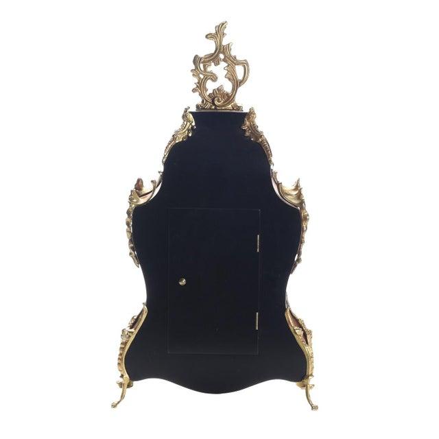 Louis XV Rococo Mantel Clock ,1900's For Sale In Greensboro - Image 6 of 7