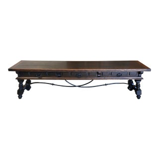 20th Century Spanish Style Console Table