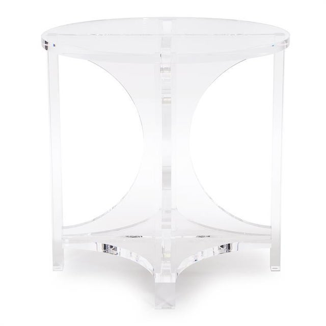 The undeniable style of our Kalar Side table is crystal clear! A compilation of sloping legs come together to create a...