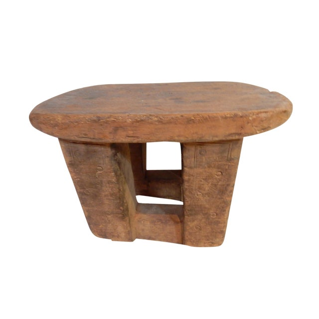 Bamileke Low Milk Stool Cameroon For Sale