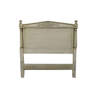 Late 20th Century Kindel Grand Rapids French Regency Style Twin Size Heaboard For Sale