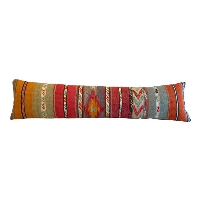 Long Kilim Bed Cushion - Image 1 of 5