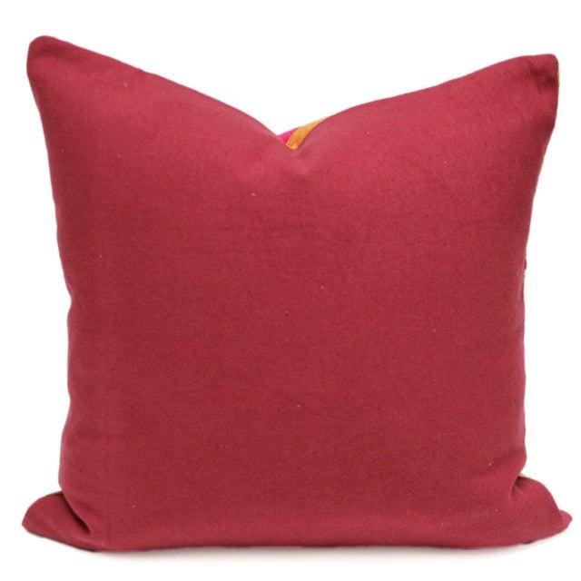 Silken Bagh Phulkari Pillow - Image 2 of 3