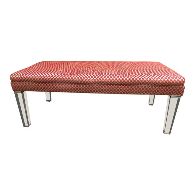 Early 21st Century Vintage NY Sutton Bench For Sale