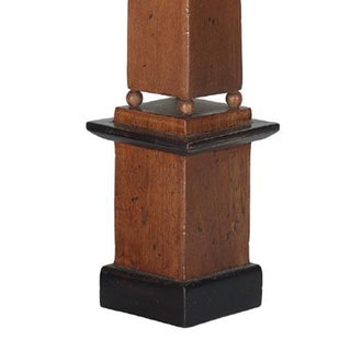 Antique Grand Tour Collection Wooden Tall Obelisks - a Pair Preview