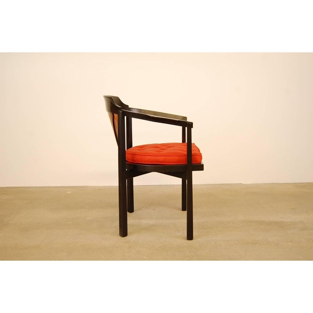 Dunbar Horseshoe Chair Designed by Edward Wormley For Sale In Providence - Image 6 of 8