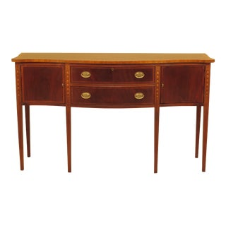 Federal Ethan Allen Inlaid Mahogany Sideboard For Sale