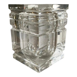 1980s Lucite Box / Ice Bucket For Sale