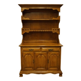 "Thomasville Furniture Post Road Collection Solid Maple 47"" Buffet For Sale"