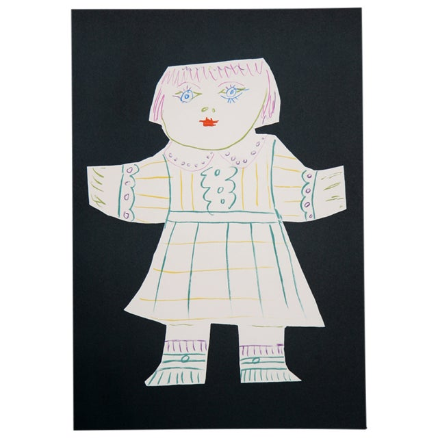 "Pablo Picasso ""Une Poupee Decoupee "" Lithograph For Sale"