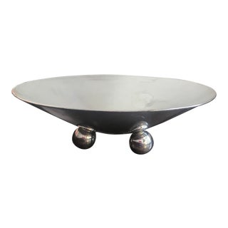 Art Deco Style Silverplate Centerpiece Bowl For Sale