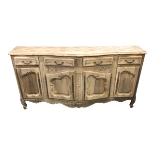 20th Century French Louis XV Walnut Enfilade For Sale