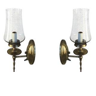 Thomas Industries Mid-Century Brass Sconces - A Pair