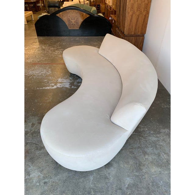 Contemporary Mid Century Style Cloud Sofa For Sale - Image 3 of 13