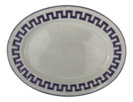 Image of Antique White Platters