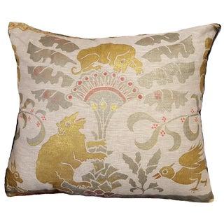 Jackrabbit Sateen Linen Pillow For Sale
