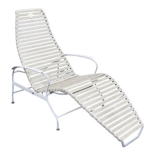 Mid-Century Danish Modern Outdoor Zero Gravity Lounge Chair For Sale