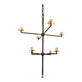 Currey & Co Ogliby Chandelier For Sale