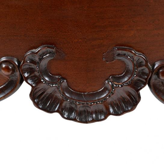 19th Century Traditional Oval Mahogany Center Table For Sale In Houston - Image 6 of 11