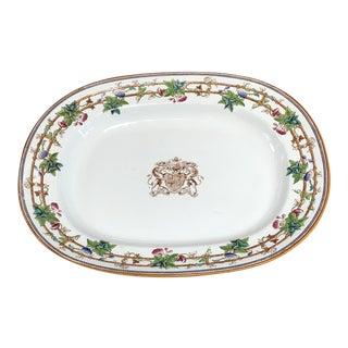 English Copeland Spode Platter For Sale