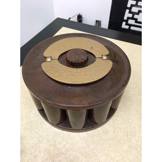 "Vintage Bakelite ""TurnIt"" Poker Chip Caddy - Image 2 of 6"