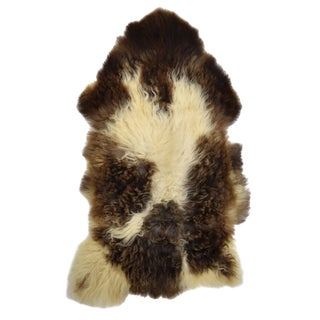 "Natural Wool Sheepskin Pelt - 2'2"" x 3'10"""