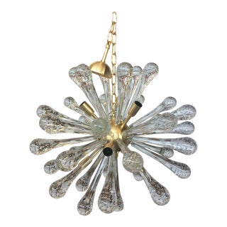 Vintage Murano Glass Sputnik Chandelier For Sale
