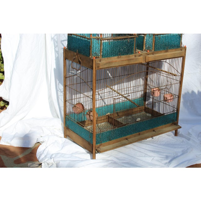 Late 19th Century 19th Century English Victorian Bird Cage For Sale - Image 5 of 9
