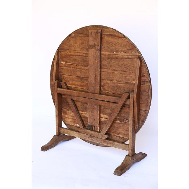 Late 19th Century 19th Century French Wine Tasting Table For Sale - Image 5 of 6