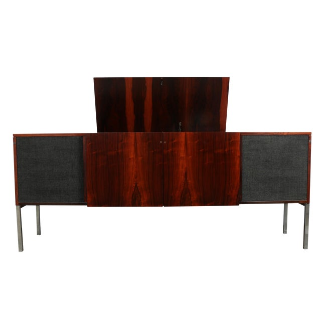 1970s Rosewood Record Cabinet - Image 1 of 11