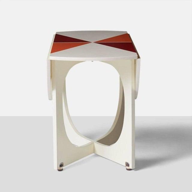 Gio Ponti Gio Ponti Drop Leaf Apta Table For Sale - Image 4 of 9