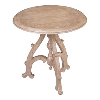 Scarborough House Round Pedestal Side Table For Sale