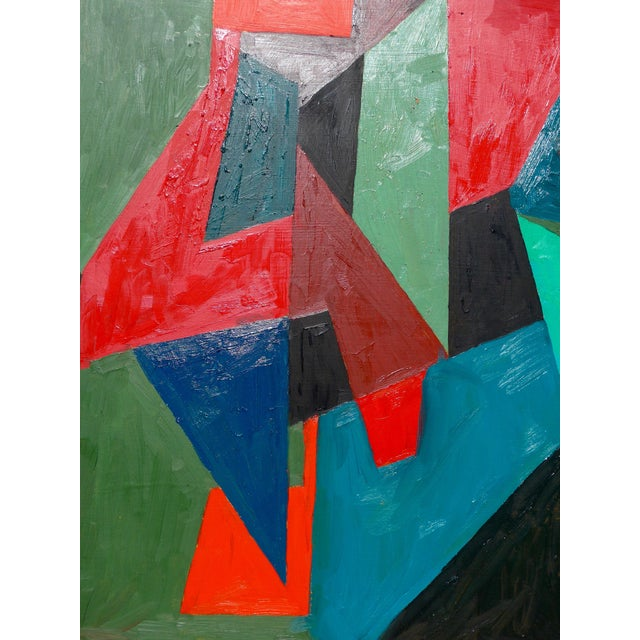Oil Paint Geometry For Sale - Image 7 of 8