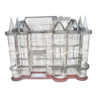 19th Century French Chateau Birdcage For Sale