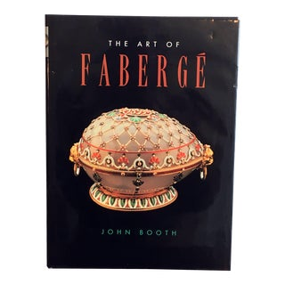 The Art of Faberge Hardcover Coffee Table Book For Sale
