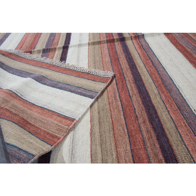 "Modern Apadana - Modern Kilim Rug, 5'8"" x 8'1"" For Sale - Image 3 of 7"